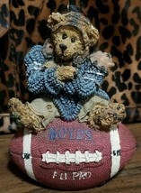 Boyds Bears and Friends 1998 All Pro Football Ornament #25705V 16E/2949 - $15.99
