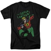 Green lantern t shirt retro 60s dc comic book cartoon superhero black tee dco809 thumb200