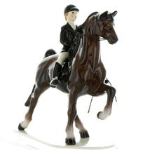 Hagen Renaker Specialty Horse Dressage with Rider Ceramic Figurine image 4