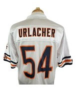 Chicago Bears Brian Urlacher #54 Reebok On Field Road White Jersey Mediu... - $24.94