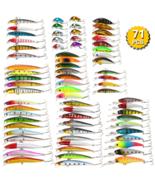 PRO 71pcs Mixed Fishing Lure Set Kit Minnow Lures Crankbaits Artificial ... - $97.00