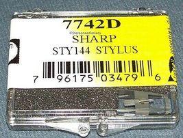 SHARP STY-144 STY-145 PHONOGRAPH TURNTABLE STYLUS NEEDLE EVG 7742D image 3