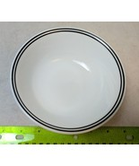 Corning Ware Corelle City Block Double Black Band Rim Replacement Cereal... - $4.99