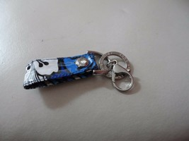 Vera Bradley Blue Bayou keychain fob NWOT  - $8.50