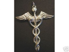 NICE Good Health Healing Celtic CADUCEUS PENDANT Jewelry - $30.48