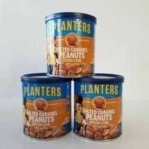 Planters Salted Caramel Peanuts Small Tub Mini BB 9/2021 6oz Each Lot 3 ... - $17.41