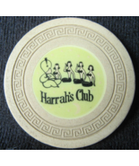 """Rare 1958 Roulette Chip From: """"Harrah's Club of Reno & Tahoe""""- (sku#4956) - $25.88"""