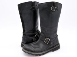 Merrell Womens 5.5 Wilderness Remix Black Buckle Side Zipper Boots EUR 35.5 - $44.99
