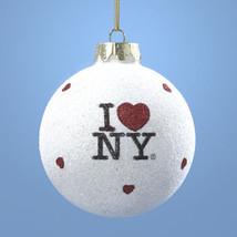 I Love NY Christmas Ornament Item #NY0708 by Kurt Adler-Holiday! - $10.44