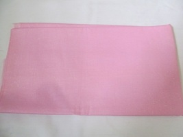 "Light Shimmer Pink Solid Pink Quilting Fabric JoAnn Fabrics 30"" x 42"" - $8.10"