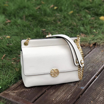 Tory Burch Chelsea Flap Leather Shoulder Bag - $485.97 CAD