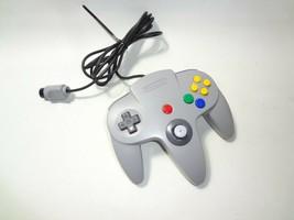 Official Nintendo 64 Controller N64 OEM Tested & Working NUS-005 GREY - $16.78