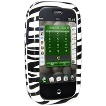 Amzer Zebra Print Snap-On Crystal Hard Case for Palm Pre - $4.94