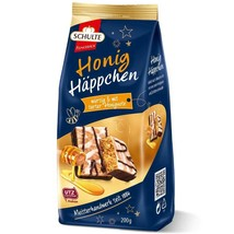 Schulte Honig Happchen spicy dough Gingerbread: HONEY 200g FREE SHIPPING - $10.88