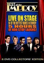 Best of the Improv 6 DVD Collectors' Edition (Seinfeld, DeGeneres, Rock ... - $7.91