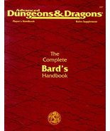 The Complete Bard's Handbook: Player's Handbook Rules Supplement, PHBR7,... - $42.92