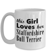 Staffordshire Bull Terrier - 15oz Mug - $16.95