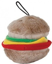 Aspen Pet Products Bite Hamburger Soft Toy, Medium - £15.67 GBP