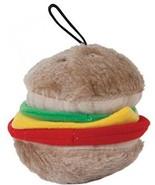 Aspen Pet Products Bite Hamburger Soft Toy, Medium - £16.80 GBP