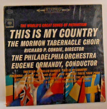 The Worlds Greatest Songs Of Patriotism This Is My Country Vinyl Record... - $7.99
