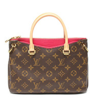 Auth Louis Vuitton Monogram Hand Bag Brown Leather PVC Logo LVB0610 - $3,386.79