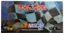 NASCAR Monoploy NIB Game Parker Brothers 1997 Collectors Edition New Sealed - $24.50