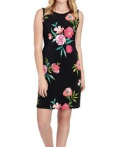 JESSICA H Floral Trapeze Dress 12 NWT - $34.12