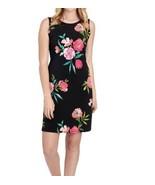 JESSICA H Floral Trapeze Dress 12 NWT - $34.12