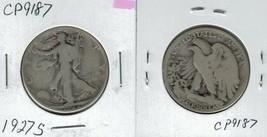 1927 S Walking Liberty Half Dollar Actual Photo of Coin CP9187 - $12.95