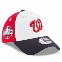 New Era Washington Nationals 2018 MLB All-Star Game 39THIRTY Flex Hat S/... - $34.99