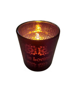 Copa Judaica Ivory LED Memorial Candle Holder - In Loving Memory - $15.00