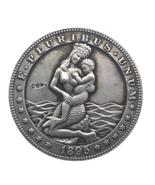 Hobo Nickel 1895 USA Morgan Dollar Sexy Mermaid COIN For Gift - $5.99
