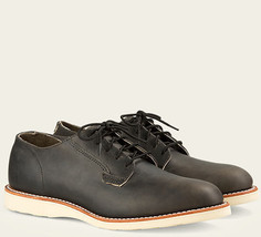 Red Wing Heritage Postman Chukka Charcoal Rough Tough Leather Shoes 7.5D... - $168.29