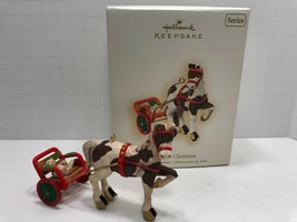 Hallmark Keepsake Ornament A Pony For Christmas 2007, 10th in Series - $8.59