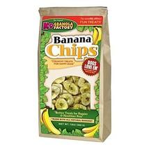K9 GRANOLA Factory Banana Chips Dog Snack Dog Treat. 12 oz. ea. Fast