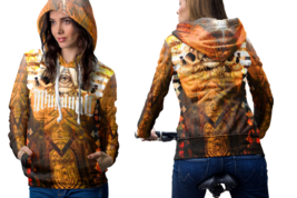 Satamic ambigram Hoodie Women - $44.99