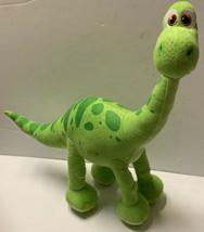 "Authentic Disney Store Green Arlo the Good Dinosaur Poseable 19"" Plush D... - $29.00"