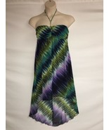 Valerie Bertinelli Dress Womens Size 8 High Low Multi Color NWOT - $53.22