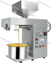 Nut Seeds Automatic Oil Press Machine Olive Oil Press Extractor Pressing... - $1,999.80