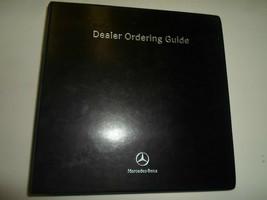 Mercedes Benz Dealer Ordering Guide Tech Illistrations Manual FACTORY OEM - $67.30