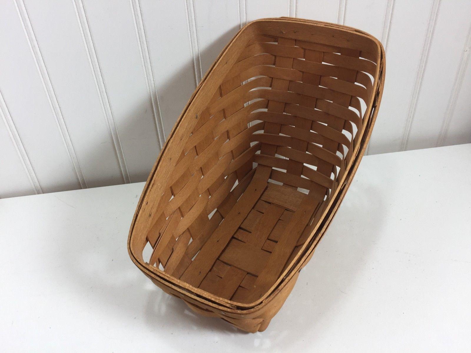 Vintage Longaberger Small Vegetable Basket 24006 1993