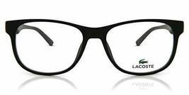New Lacoste L2743 004 Matte Black Eyeglasses 52mm With Lacoste Case - $94.00
