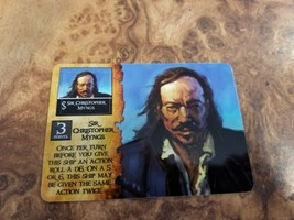 Wizkids Pirates CSG Spanish Main  Sir Christopher Myngs EC-002 - $8.90