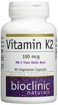 Bioclinic Naturals Vitamin K2, 90 Count - $22.22