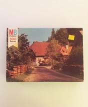 "Vintage 70s Milton Bradley Coventry Jigsaw Puzzle-#4906 ""3: Hornberg""  image 6"