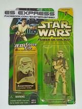 """HASBRO STAR WARS POTJ POWER OF THE JEDI 3.75"""" SANDTROOPER - $29.69"""