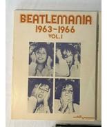 Beatles Book Lot Beatlemania Volume 1 2 Music Guitar and 1977 Beatles Fo... - $27.99