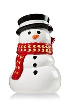 Bath & Body Works RED SCARF SNOWMAN luminary candle holder for 14.5 oz 3 wick ca - $98.95