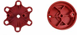Red Pro Series Distributor Cap, Rotor Kit 6-Cylinder Male image 7