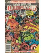 Marvel Contest of Champions #1 ORIGINAL Vintage 1982 Marvel Comics - $39.59